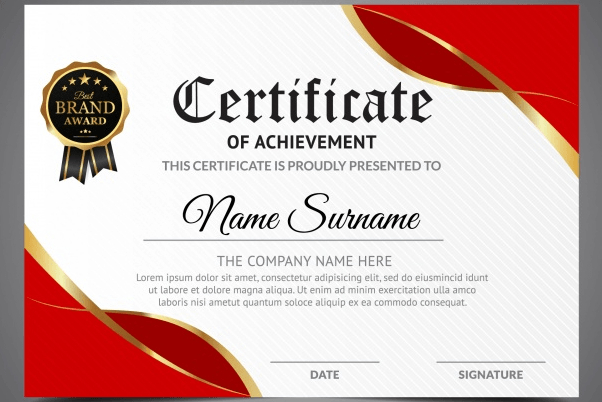 50 Multipurpose Certificate Templates And Award Designs within Awesome Drawing Competition Certificate Template 7 Designs