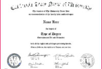 6 Free Templates For Certificates Theology 28488 with Awesome Doctorate Certificate Template