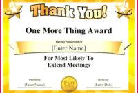 6 Fun Employee Award Certificate Templates 32347 inside Printable Free Funny Award Certificate Templates For Word