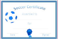 6 Soccer Award Certificate Word Template 98331  Fabtemplatez inside Awesome Soccer Certificate Templates For Word