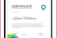 6 Sports Certificate Template Microsoft Word 19815 pertaining to Sports Day Certificate Templates