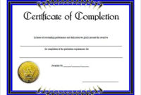 6 Work Completion Certificate Formats In Word within Awesome Finisher Certificate Template 7 Completion Ideas