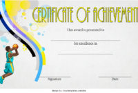 7 Basketball Achievement Certificate Editable Templates inside Printable Netball Participation Certificate Editable Templates