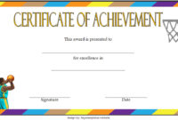 7 Basketball Achievement Certificate Editable Templates throughout Free Super Reader Certificate Templates
