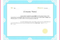 7 Corporate Share Certificate Template 58350  Fabtemplatez intended for Ownership Certificate Templates