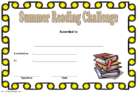 7 Fantastic Summer Reading Certificate Templates Free throughout Reading Certificate Template Free