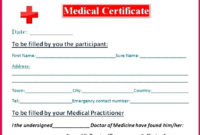 7 Free Fake Medical Certificate Template 65696  Fabtemplatez pertaining to Best Fake Medical Certificate Template Download
