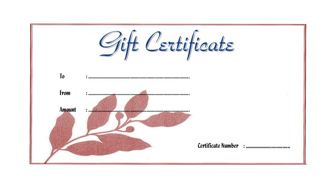 7 Free Spa Gift Certificate Templates For Word In 2020 Di inside Amazing Spa Gift Certificate