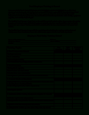 7 Printable Employee Training Template Excel Forms in Employee Training Agenda Template