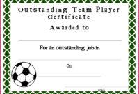 7 Soccer Achievement Certificate Templates Free 83398 inside Free Soccer Achievement Certificate Template