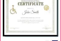 7 Sports Certificate Templates Netball 73504  Fabtemplatez inside Amazing Athletic Award Certificate Template