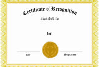 8 Easy To Use Certificate Of Appreciation Template pertaining to In Appreciation Certificate Templates