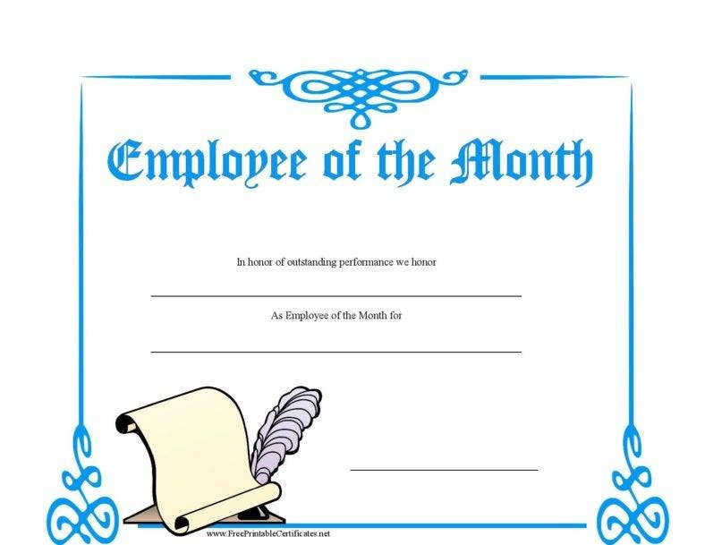 8 Employee Recognition Certificates  Free  Premium regarding Awesome Free Employee Appreciation Certificate Template