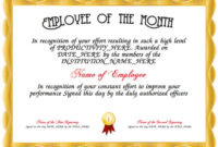 9 Best Awards Certificate Templates Images On Pinterest intended for Best Employee Recognition Certificates Templates Free
