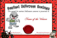 9 Best Halloween Templates Images On Pinterest  Halloween intended for Halloween Certificate Template