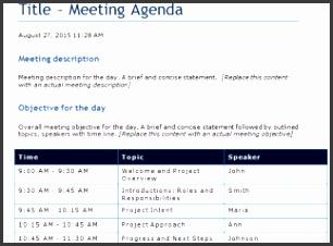 9 Free Meeting Agenda Template Microsoft Word with Awesome One On One Meeting Agenda Template Free