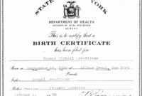 9 Printable Birth Certificate Template  Sampletemplatess pertaining to Awesome Baptism Certificate Template Word 9 Fresh Ideas