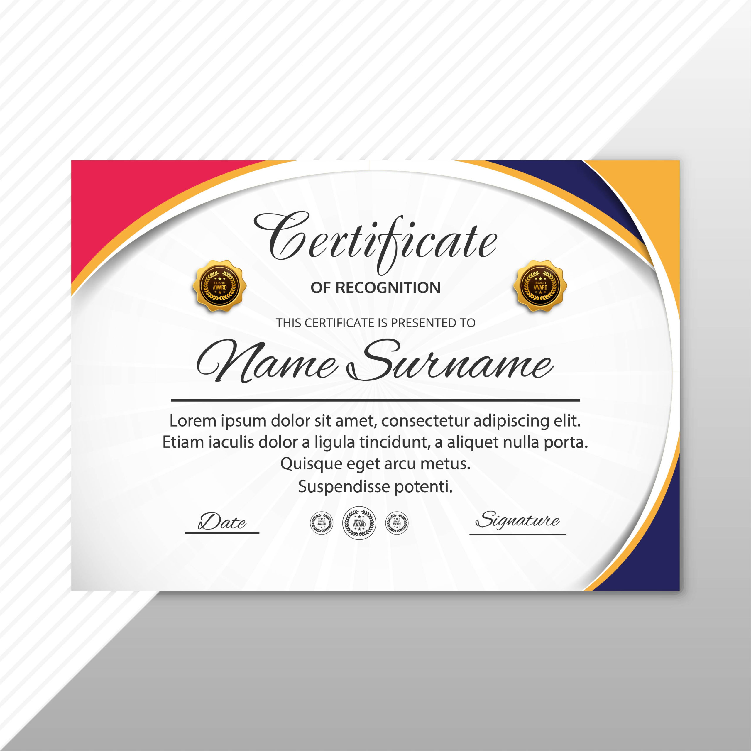 9 Printable Certificate Designs  Certificate Template intended for Printable Editable Stock Certificate Template