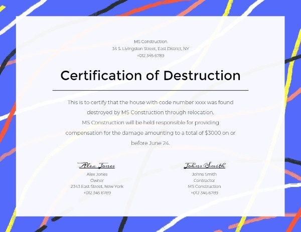 A Certification For Career Certification Job  How To with Robotics Certificate Template Free