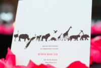A Wedding At The Zoo for Amazing Zoo Gift Certificate Templates Free Download