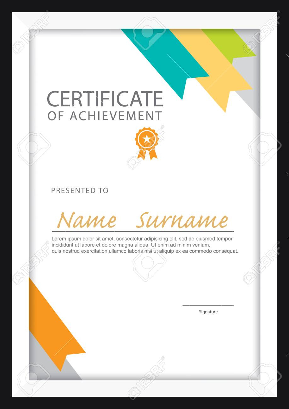 A4 Size Certificate Templates  Majormagdaleneproject pertaining to Best Certificate Template Size