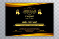 Abstract Beautiful Certificate Template Design Vector for Beautiful Certificate Templates