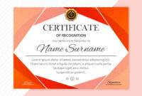 Abstract Creative Certificate Diploma Template Design for Free Art Certificate Templates