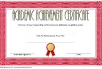 Academic Certificate Top 10 Achievement Awards  One Package with Printable Bowling Certificate Template Free 8 Frenzy Designs