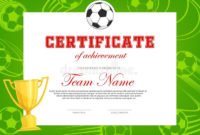 Achievement Soccer Stock Illustrations  3294 Achievement intended for Free Soccer Achievement Certificate Template