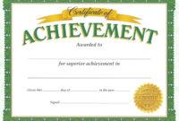 Achievementcertificatetemplatesdownloadpdfprintable for Sample Award Certificates Templates