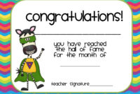 Adventures In Room 5 I'Ve Finally Figured Out My Behavior within Printable Good Behaviour Certificate Template 10 Kids Awards