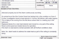 Alarm Monitoring Certificate Template Luxury A4 Fire Alarm inside Best Fire Extinguisher Certificate Template