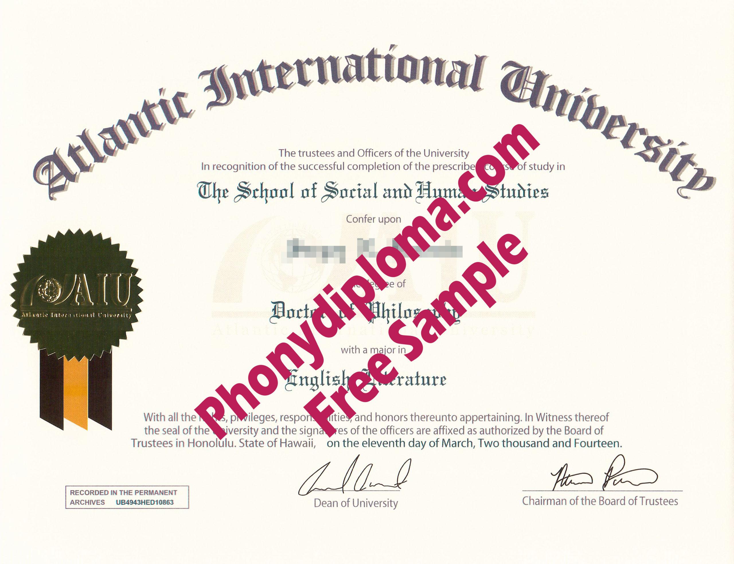 All Fake Diploma Samples In Usa  Phonydiploma Regarding inside Amazing Fake Diploma Certificate Template
