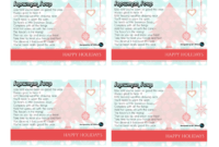 Anne Hanson Mary Kay Sales Directorus Tc Christmas For within Mary Kay Gift Certificate Template