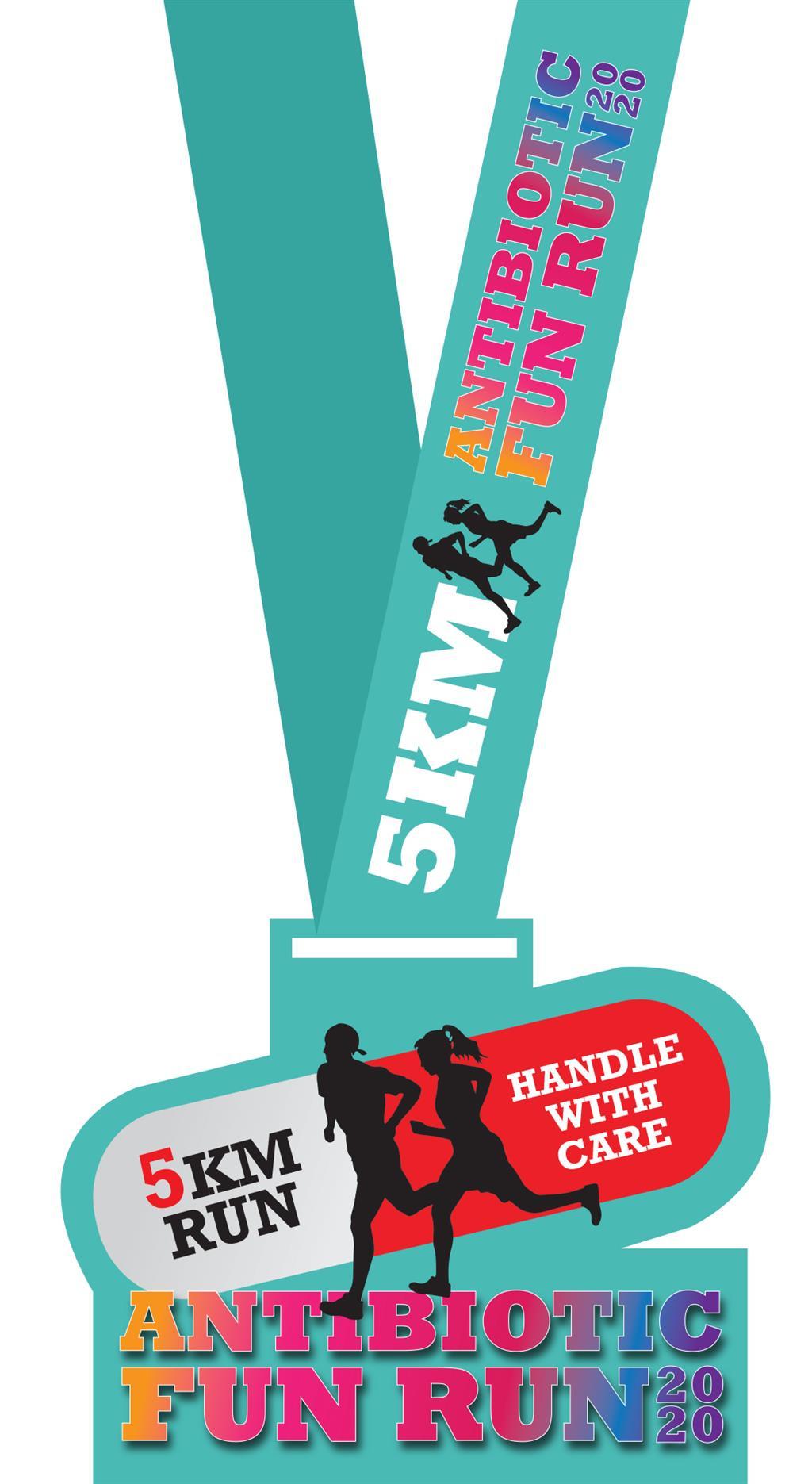 Antibiotic Fun Run 2020  Ticket2U with regard to Quality Marathon Certificate Template 7 Fun Run Designs