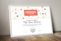 Ares Professional Landscape Certificate Template With within Landscape Certificate Templates