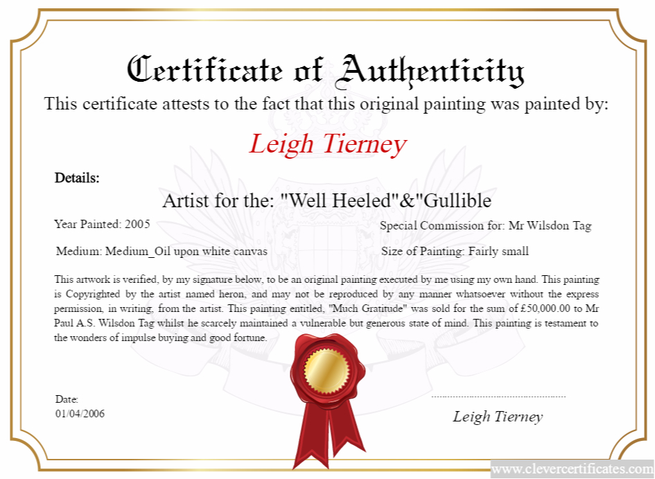Artist Maker Design Download And Print Your Free for Art Certificate Template Free