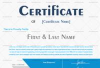Award Certificate Blue 922 In 2020  Award within Microsoft Word Award Certificate Template