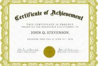 Award Certificate Sample  Business Mentor in Contest Winner Certificate Template