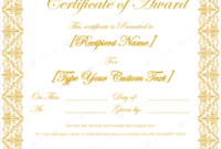 Award Certificate Square Design  Awards Certificates throughout Microsoft Word Award Certificate Template