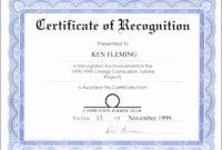 Award Certificate Template Word  Addictionary inside Award Certificate Templates Word 2007