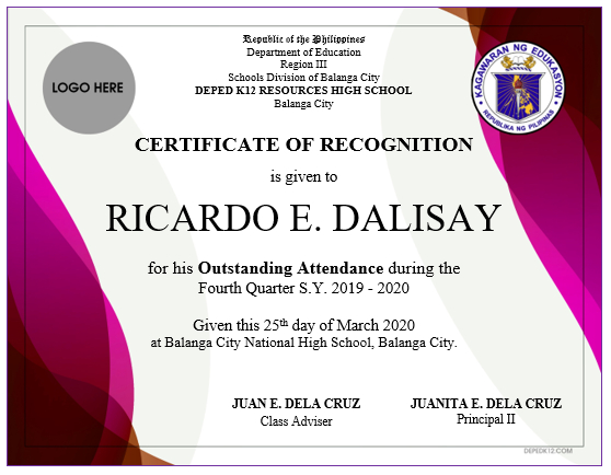 Award Certificates Modern Abstract Design  Deped K12 for Essay Writing Competition Certificate 9 Designs