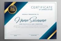 Award Diploma Certificate Template Design  Download Free inside Art Award Certificate Free Download 10 Concepts
