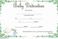 Baby Dedication Certificate Template Free Lovely 7 Free intended for Best Dressed Certificate Templates