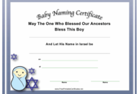 Baby Naming Certificate Template Download Printable Pdf pertaining to Quality Free Fillable Baby Dedication Certificate Download