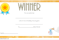 Baby Shower Winner Certificates Free 7 Best 2019 Designs with Free Fishing Certificates Top 7 Template Designs 2019