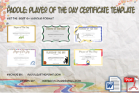 Badminton Certificate Template  8 Latest Designs Free with regard to 5K Race Certificate Template