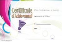 Badminton Certificate Template Free 12 Championship regarding Badminton Certificate Templates
