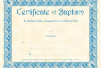 Baptism Certificates Templates 1000 Images About Places with regard to Best Christian Certificate Template
