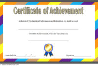 Baseball Achievement Certificate Templates 7 Best Choices inside Finisher Certificate Template